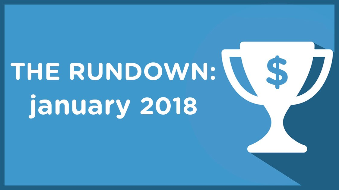 The Rundown: January 2018