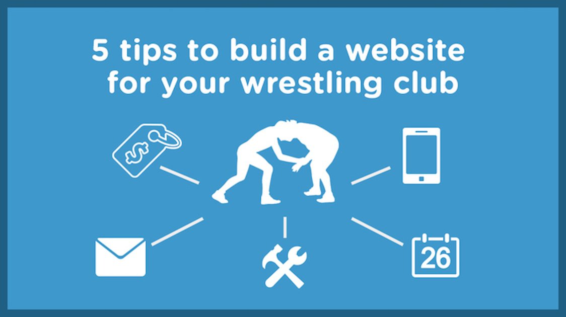 5 Tips to build a youth wrestling website in 2018