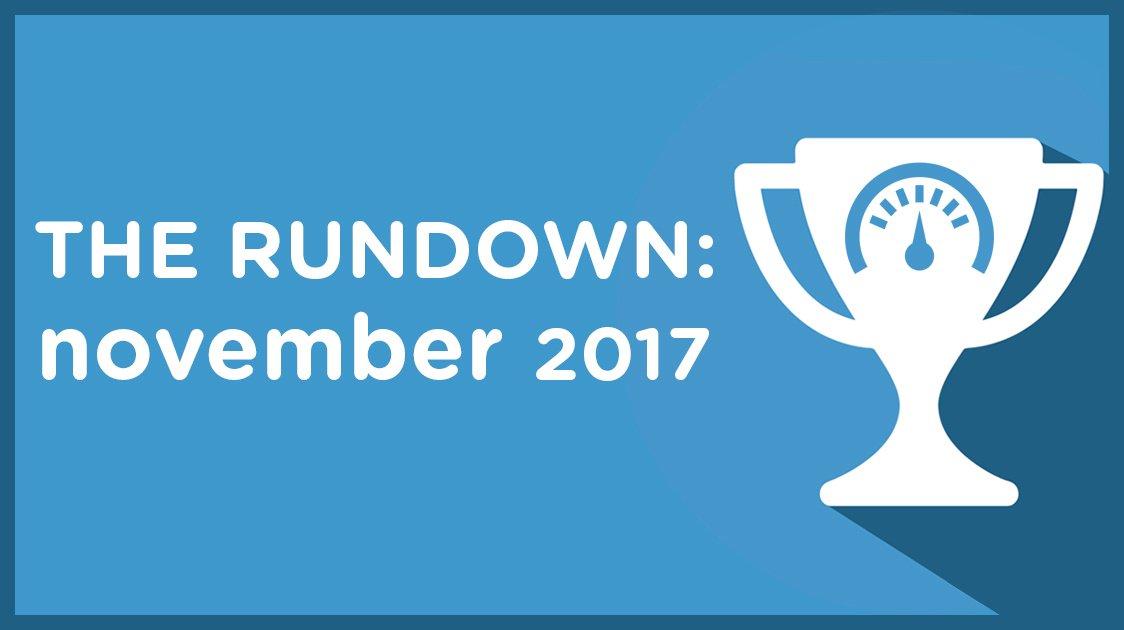 The Rundown: November 2017