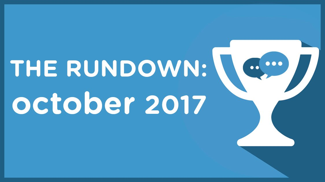 The Rundown: October 2017
