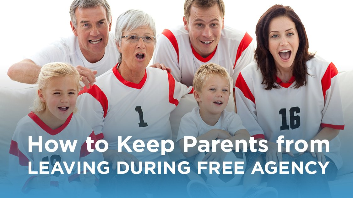 How to Keep Parents from Leaving During Free Agency