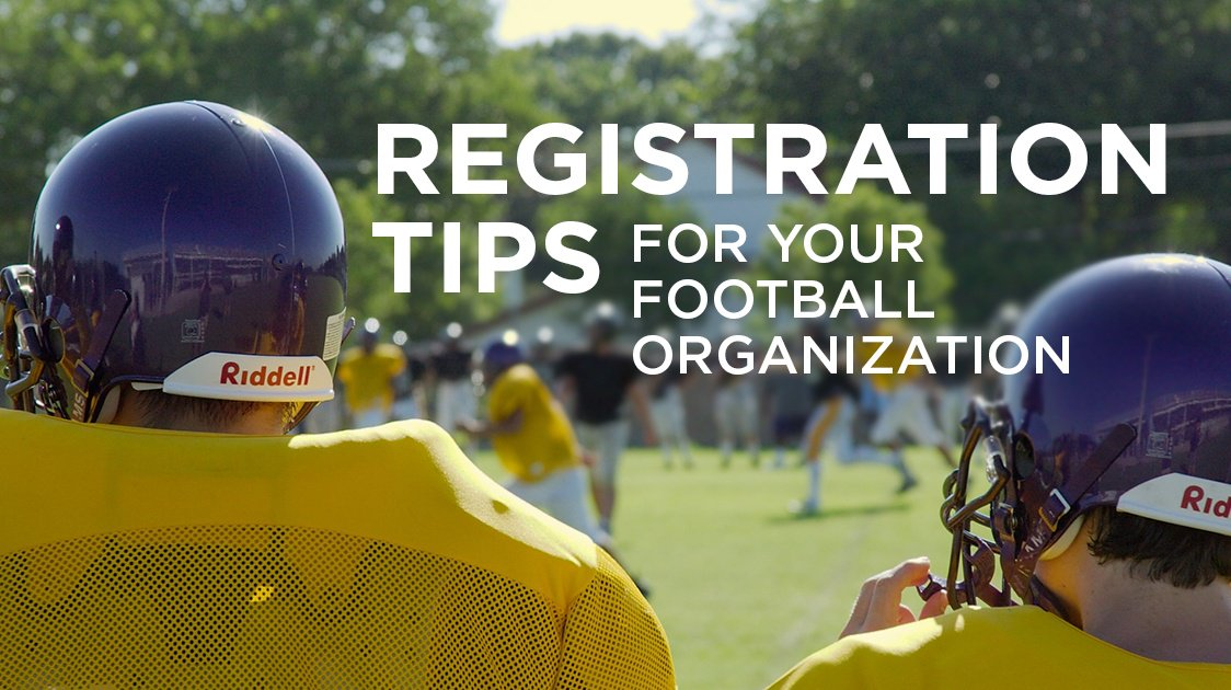 Registration Tips for your Football Organization