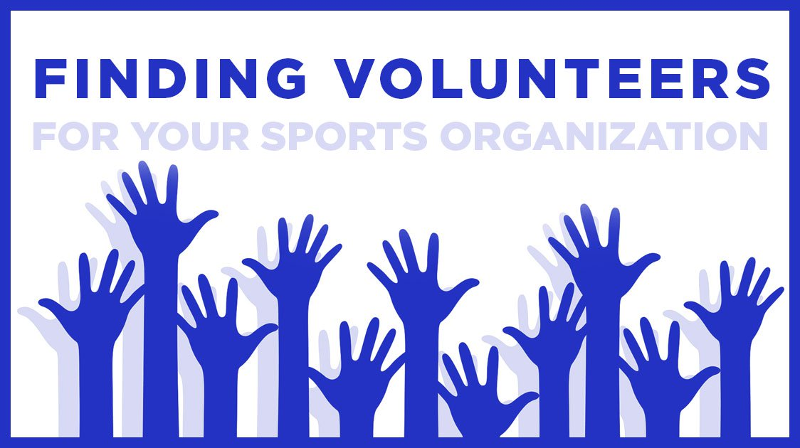 Finding Volunteers for your Sports Organization