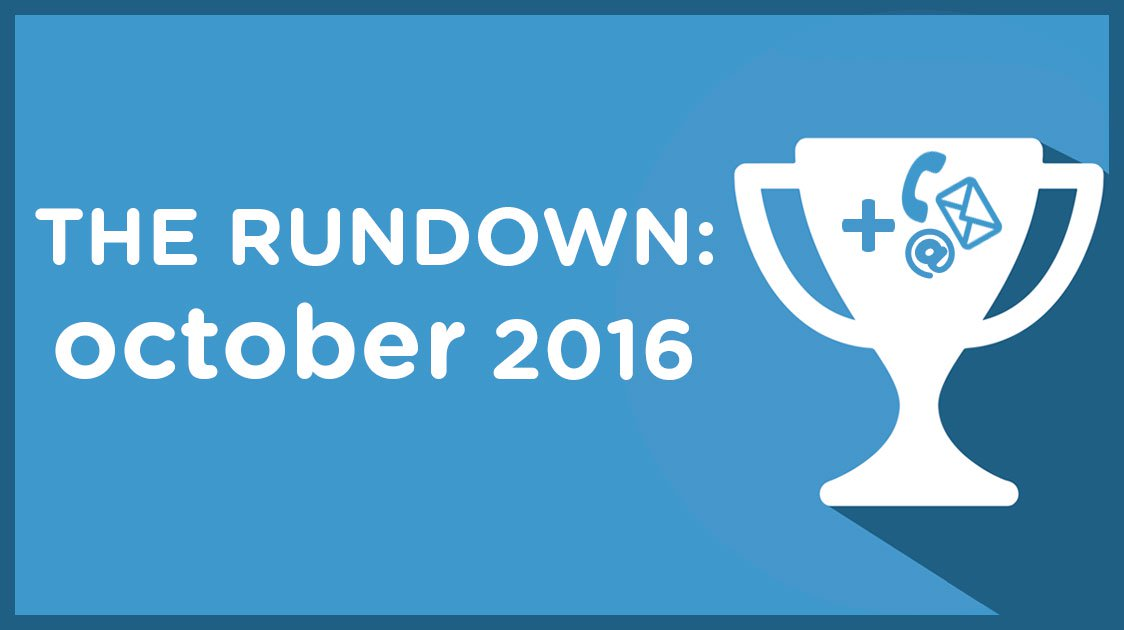 The Rundown: October 2016
