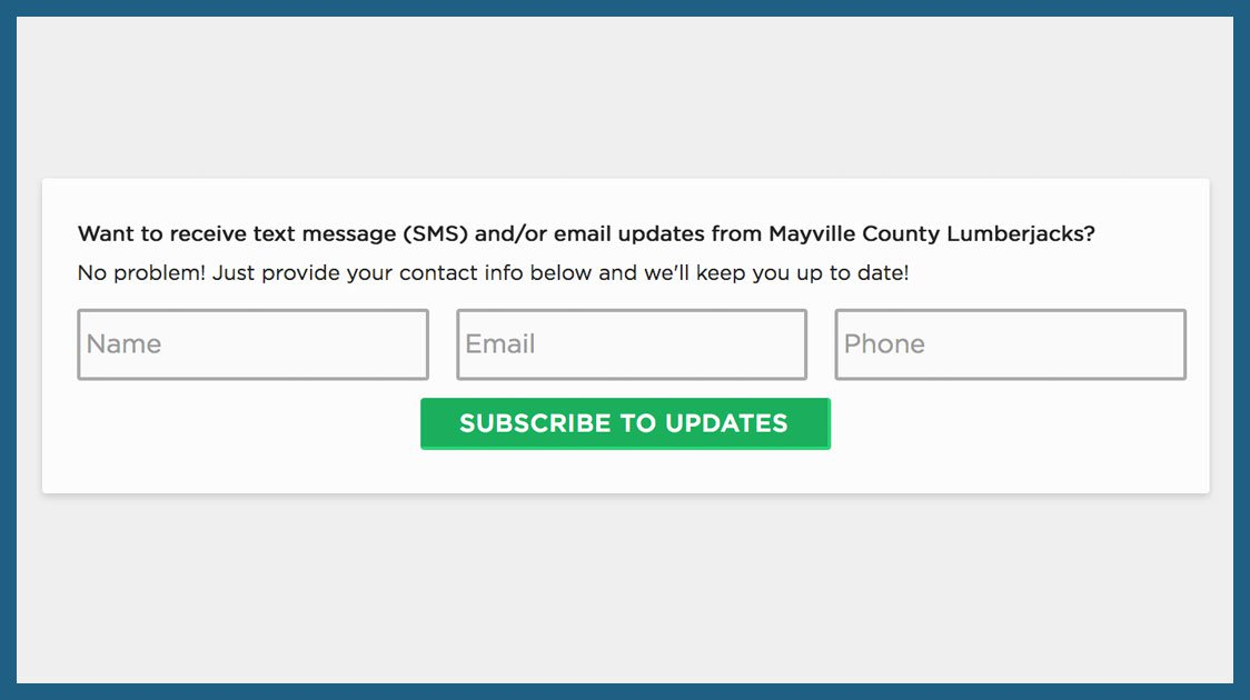 Feature Release: Subscribe to Announcements