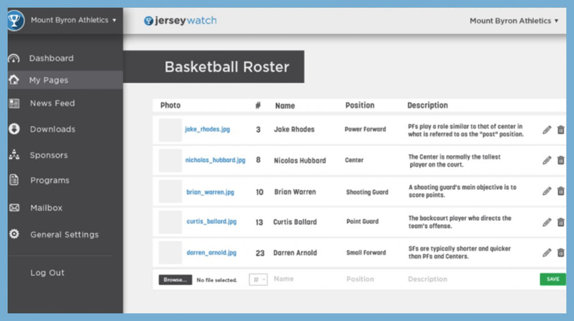 New Roster feature in the works…