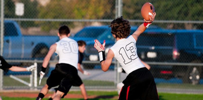 How to start a flag football league