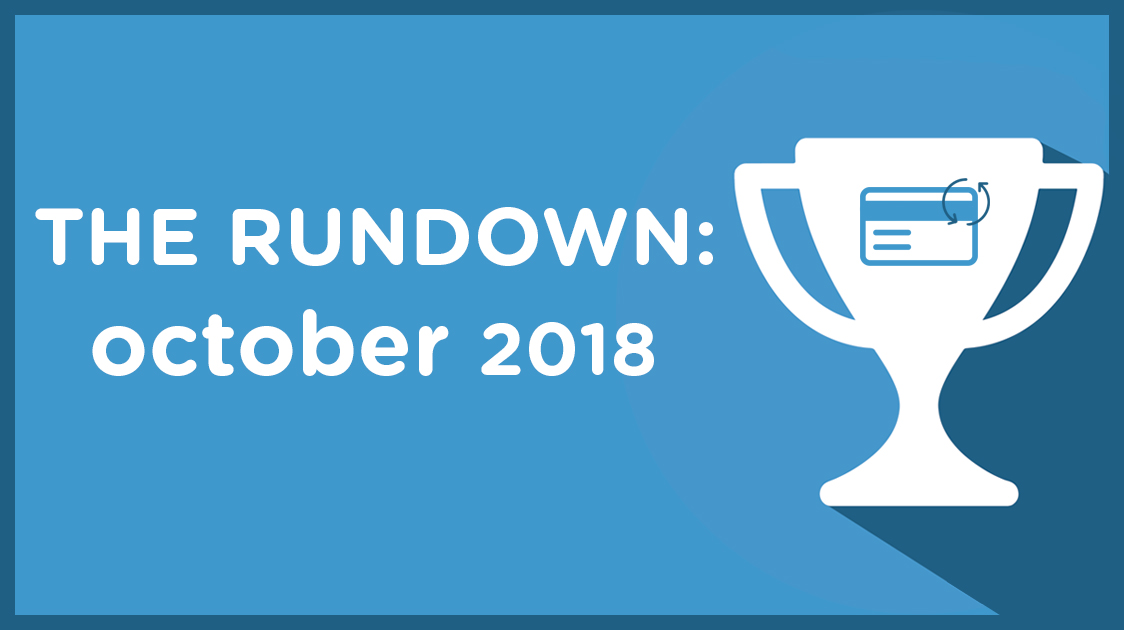 The Rundown: October 2018 – Payment Plans for Sports