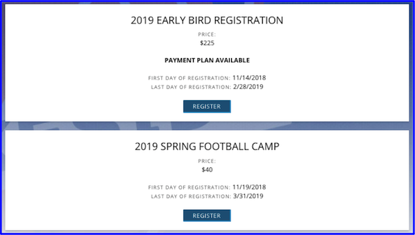 How to register more youth football players for next season