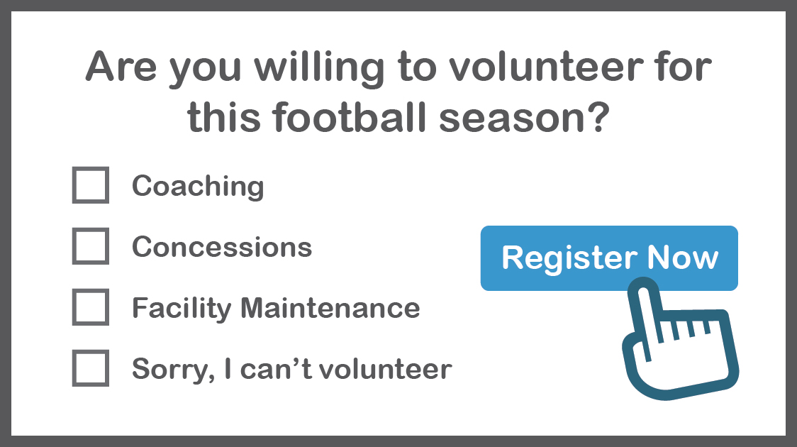A Youth Football Registration Form Template for Next Season
