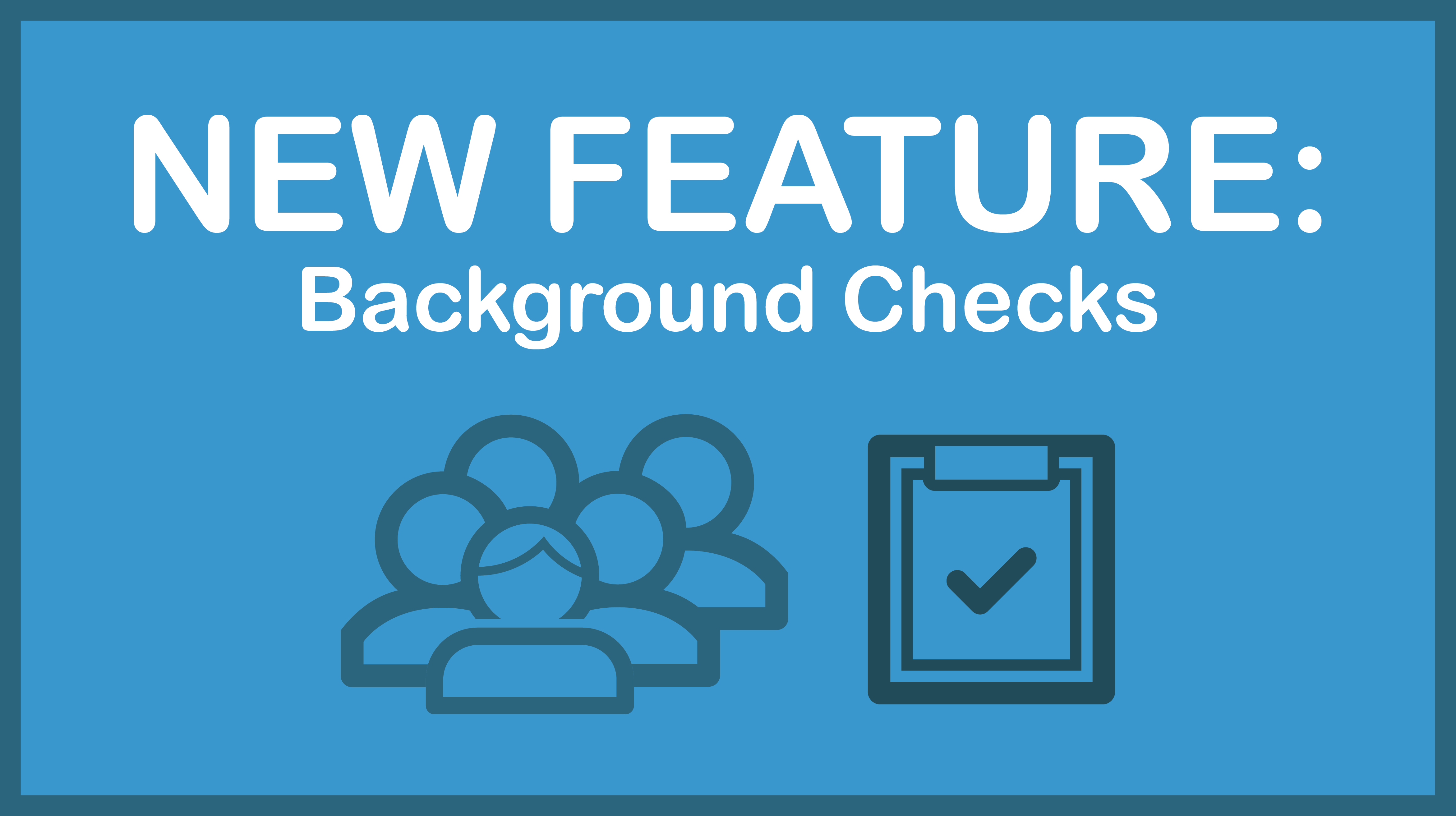 New Feature: Background Checks for Youth Sports